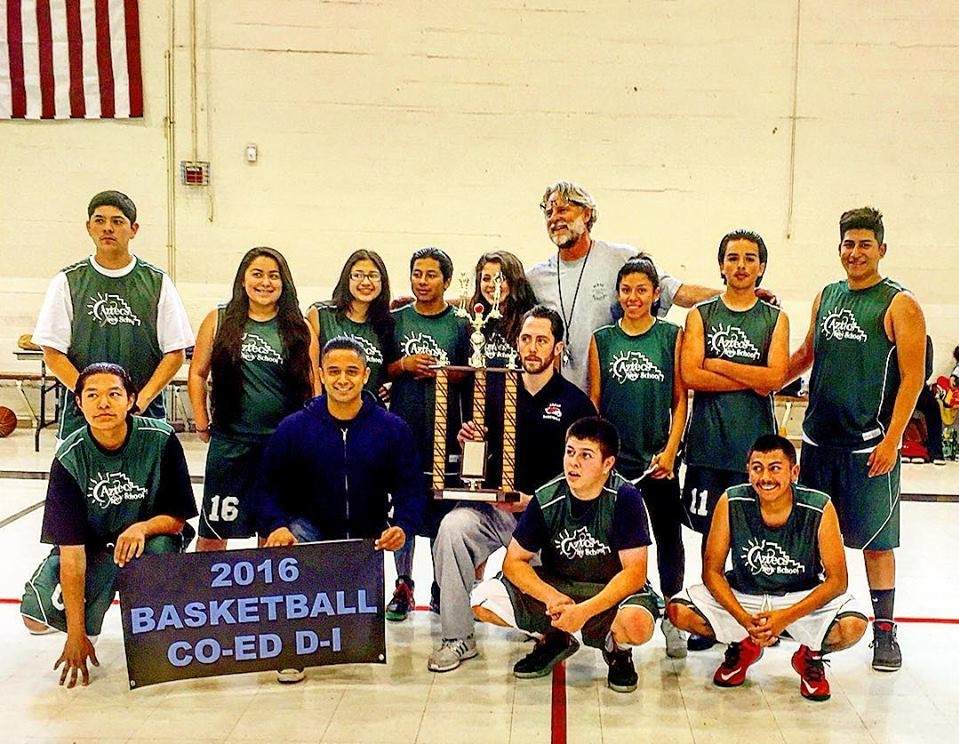 New School 2016 MBASAL Division I Co-Ed Champions!